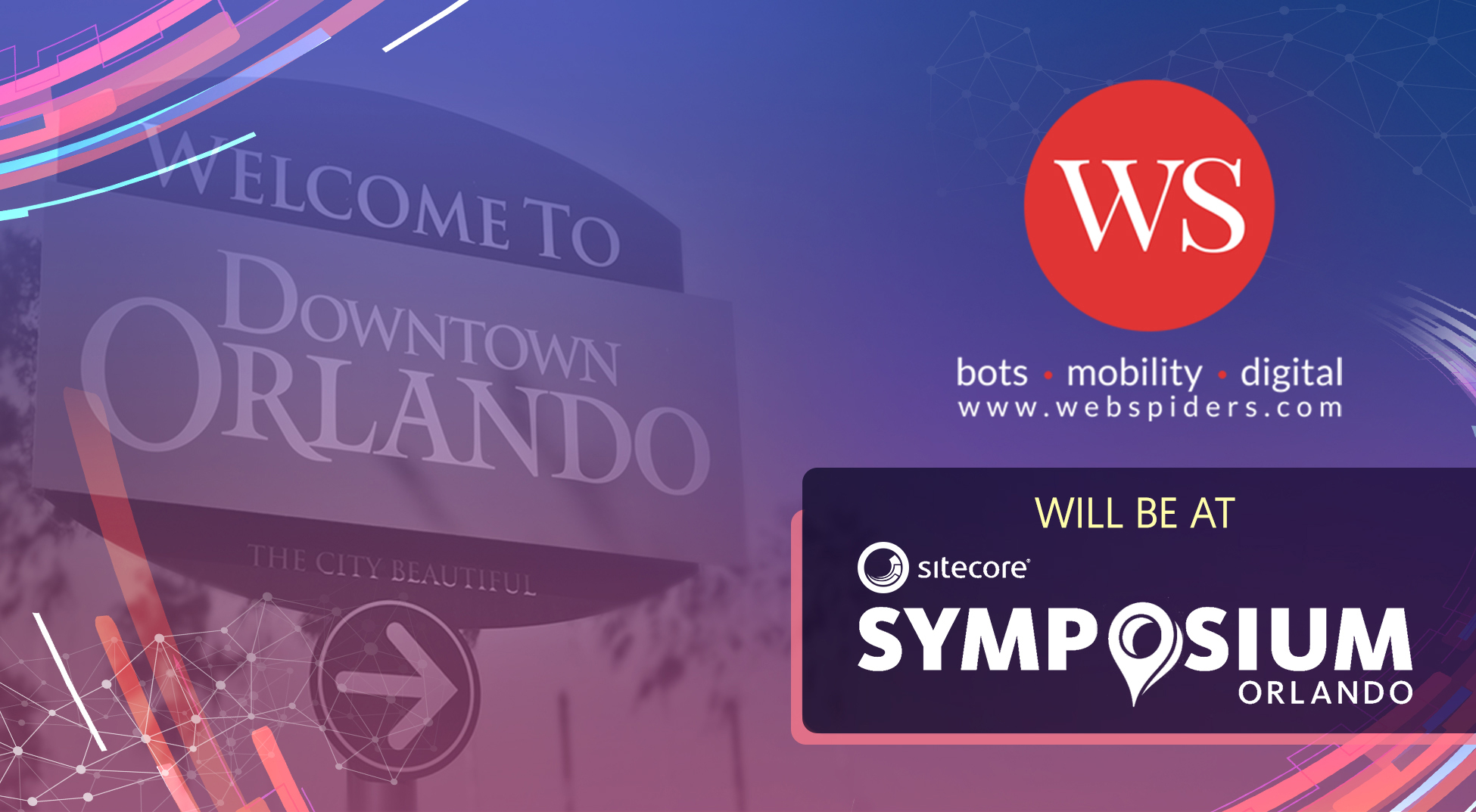 Join Web Spiders at Sitecore Symposium 2018!