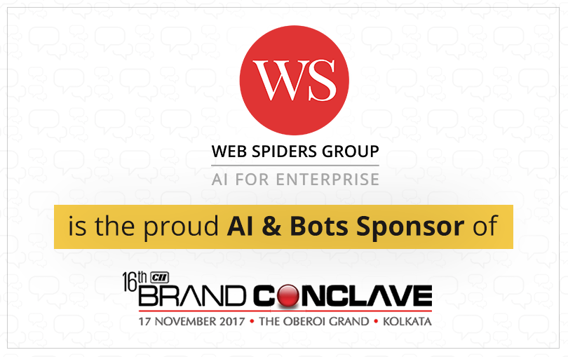 WS is The AI & Bots Sponsor of 16th Brand Conclave