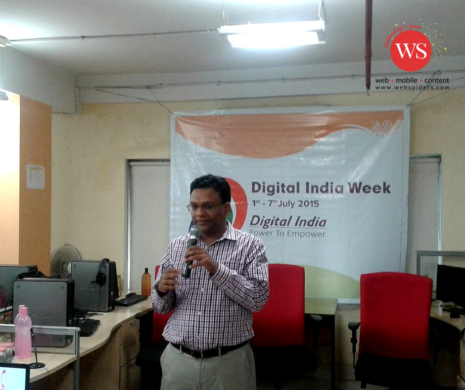WS Group CEO Siddharth Jhunjhunwala addresses the WS Group family on #Digital India Week