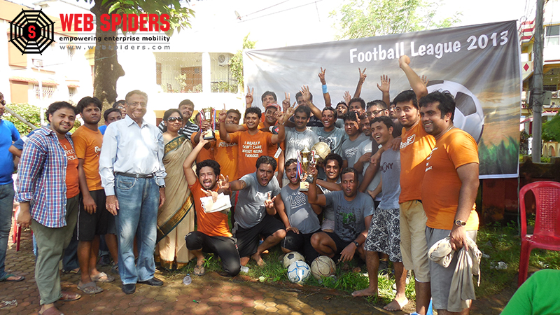 Web Spiders Football League