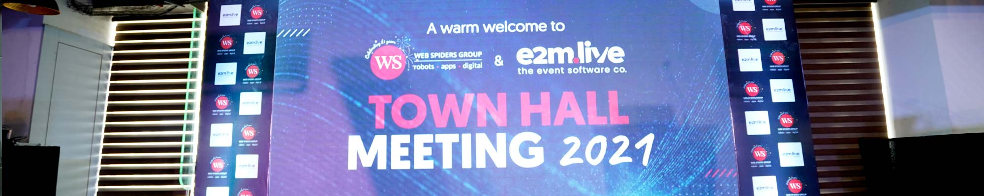 WS Town Hall 2021 – Welcoming Back In-Person Events
